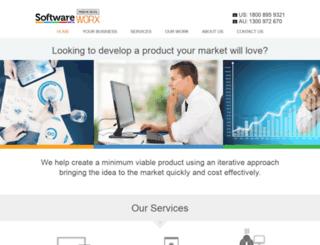 softwareworx.com screenshot