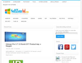 softzonebd.com screenshot
