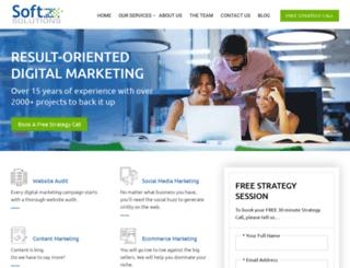 softzsolutions.com screenshot