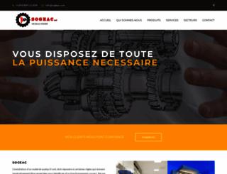 sogeac.com screenshot