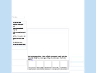sogtvt.hanoi.gov.vn screenshot