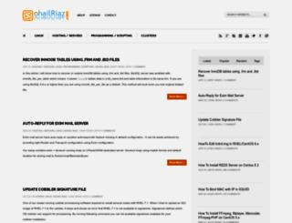 sohailriaz.com screenshot