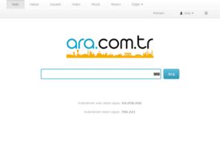 sohbet.ara.com.tr screenshot
