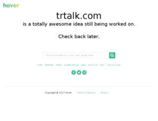 sohbet.trtalk.com screenshot