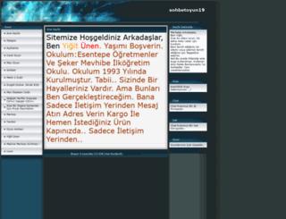 sohbetoyun19.tr.gg screenshot