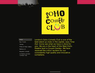 sohocomedy.com screenshot