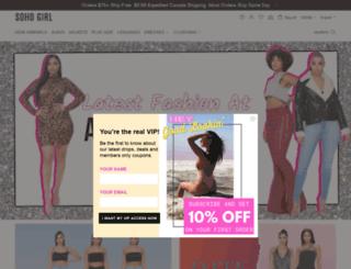 sohogirl.com screenshot