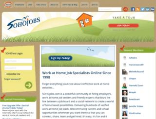 sohojobs.com screenshot