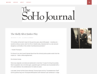 sohojournal.com screenshot