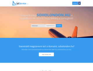 soholondon.hu screenshot