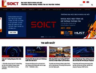 soict.hust.edu.vn screenshot