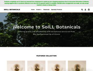 soillbotanicals.com screenshot