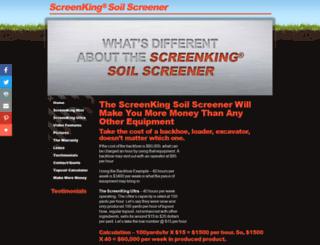 soilscreener.ca screenshot