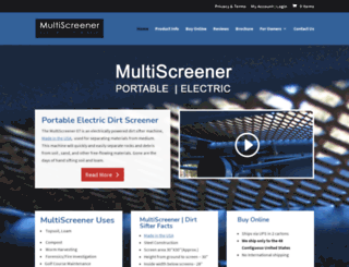 soilscreener.com screenshot