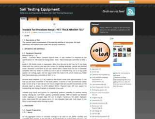 soiltestingequipment.blogspot.com screenshot