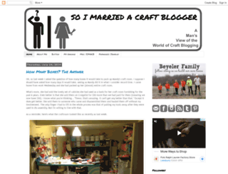 soimarriedacraftblogger.com screenshot