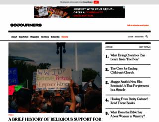 sojo.net screenshot