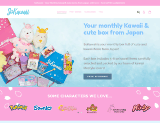 sokawaiibox.com screenshot