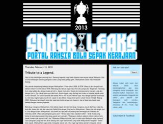 sokerleaks.blogspot.com screenshot