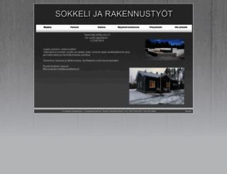 sokkelijarakennustyot.fi screenshot
