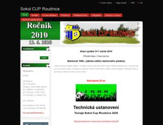 sokolcup.webnode.cz screenshot