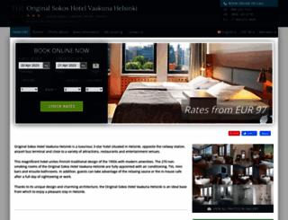 sokos-vaakuna-helsinki.hotel-rv.com screenshot