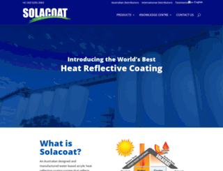 solacoat.com.au screenshot