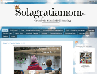 solagratiamom.com screenshot
