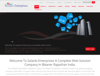 solanki-enterprises.com screenshot