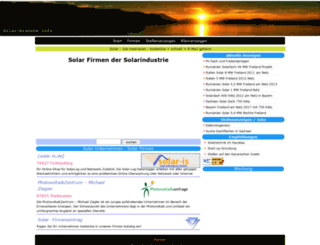 solar-branche.info screenshot