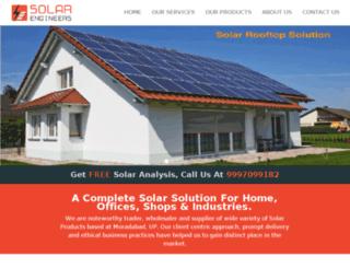 solar-engineers.in screenshot