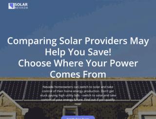 solar-nevada.org screenshot
