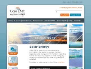 solar.cobbemc.com screenshot