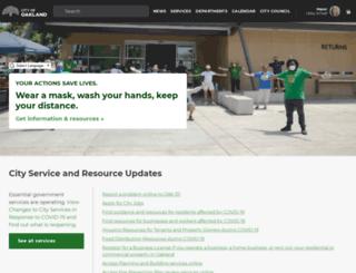 solar.oaklandnet.com screenshot