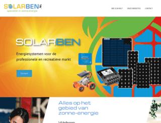 solarben.nl screenshot