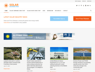 solarbusinesshub.com screenshot