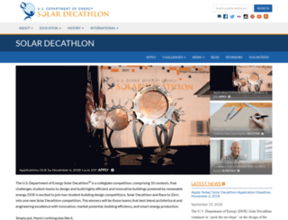 solardecathlon.gov screenshot