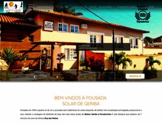 solardegeriba.com.br screenshot