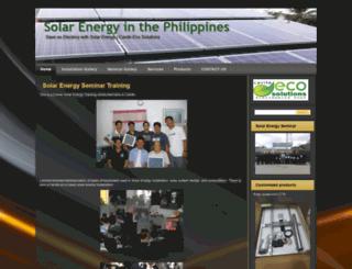 solarenergyph.com screenshot