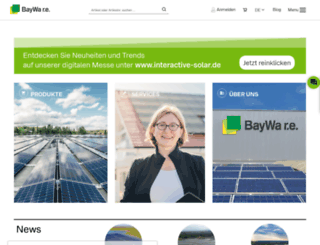 solarenergysystems.baywa-re.com screenshot