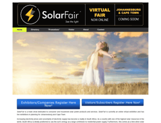 solarfair.co.za screenshot