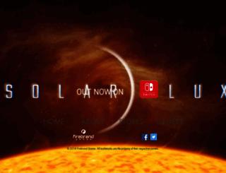 solarfluxgame.com screenshot