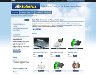solarfoz.negociol.com screenshot