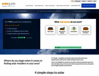solarguide.co.uk screenshot