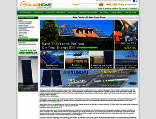 solarhome.org screenshot