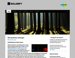 solarify.eu screenshot