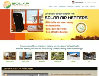 solarinfrasystems.com screenshot