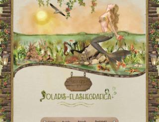solaris-flashegrafica.com screenshot