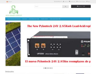 solarmegashop.com screenshot