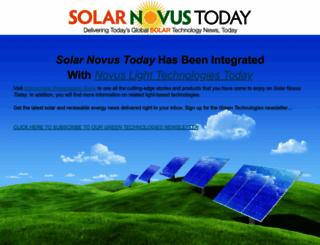 solarnovus.com screenshot
